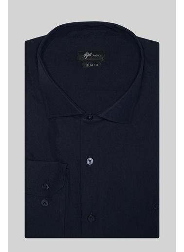 IGS Klasik Gömlek Lacivert